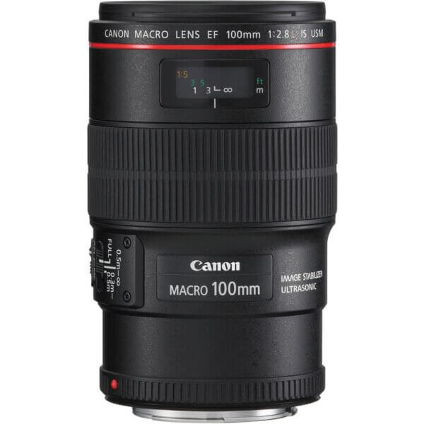 Canon EF 100mm f2.8L Macro IS USM Lens ประกันศูนย์1