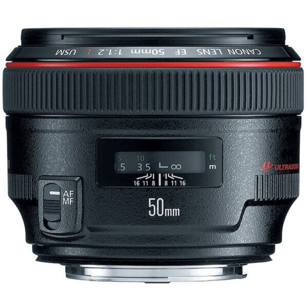 Canon EF 50mm f1.2L USM Lens ประกันศูนย์1