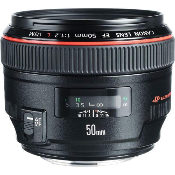 Canon EF 50mm f1.2L USM Lens ประกันศูนย์2
