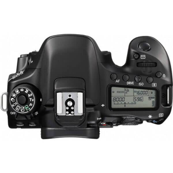Canon EOS 80D Body 5