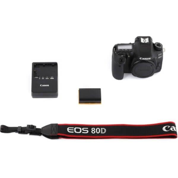 Canon EOS 80D Body 9