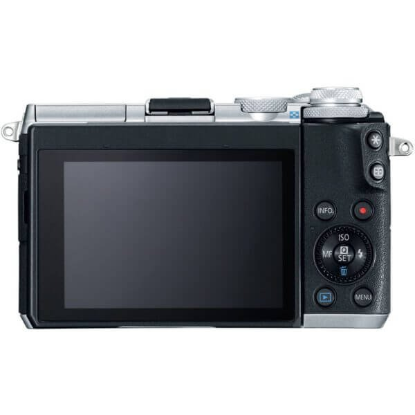 Canon EOS M6 with15 45mm Lens Silver5