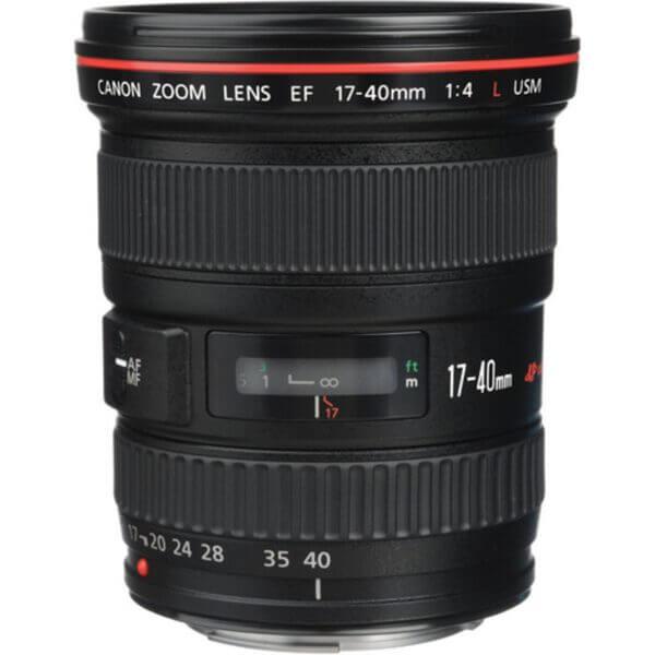 Canon Lens EF 17-40mm F4L USM 2