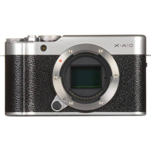 Fujifilm X-A10 Sliver + 16-50mm OIS II 14