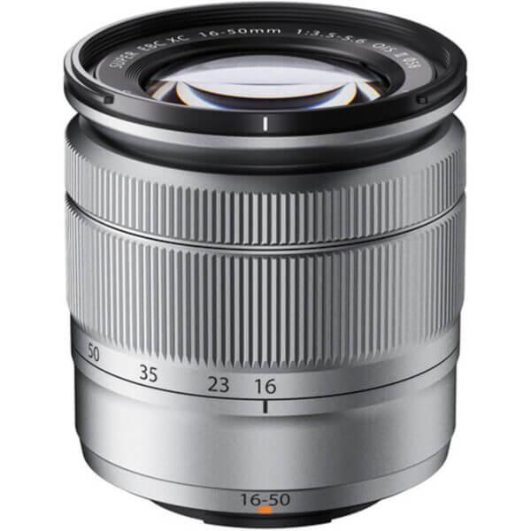 Fujifilm X-A10 Sliver + 16-50mm OIS II 9