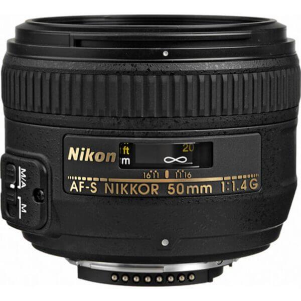 Nikon Lens AF-S 50mm F1.4 G 2
