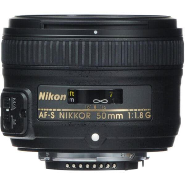 Nikon Lens AF-S 50mm F1.8 G 2