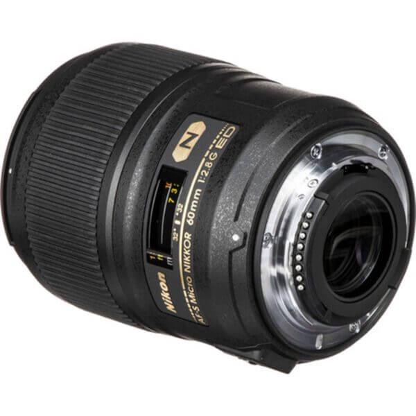 Nikon Lens AF-S 60mm F2.8G ED Micro 6