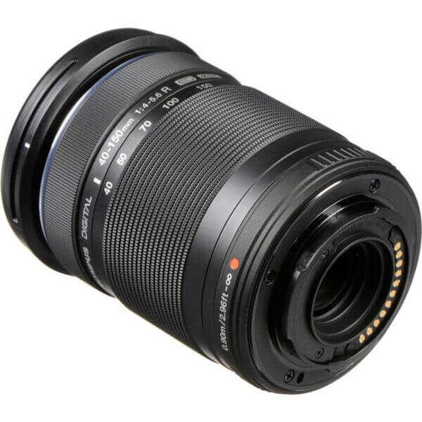Olympus M.Zuiko Digital ED 40 150mm f4 5.6 R Lens Black ประกันศูนย์3