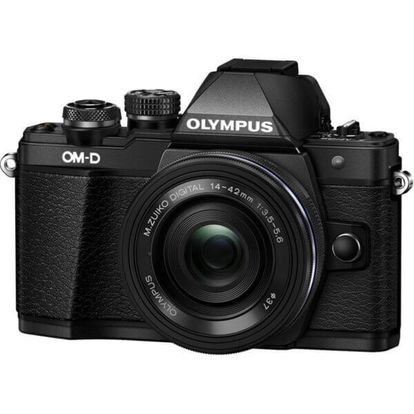 Olympus OM D E M10 Mark II 4 42mm EZ 40 150mm Black1