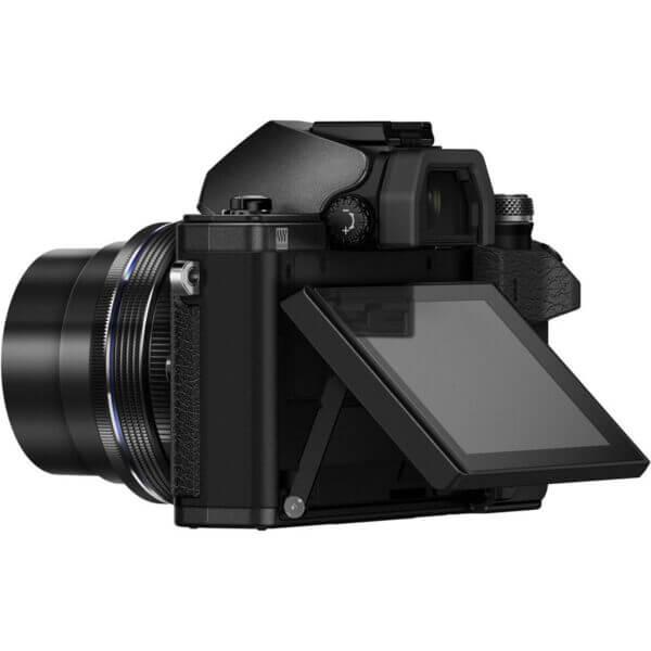 Olympus OM D E M10 Mark II 4 42mm EZ 40 150mm Black10