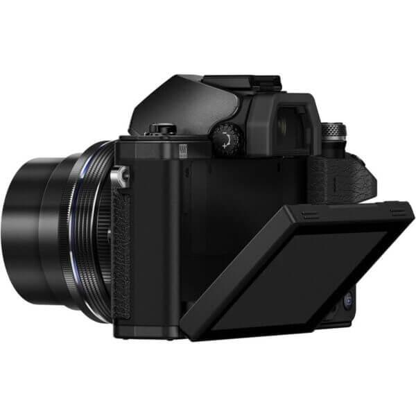 Olympus OM D E M10 Mark II 4 42mm EZ 40 150mm Black2