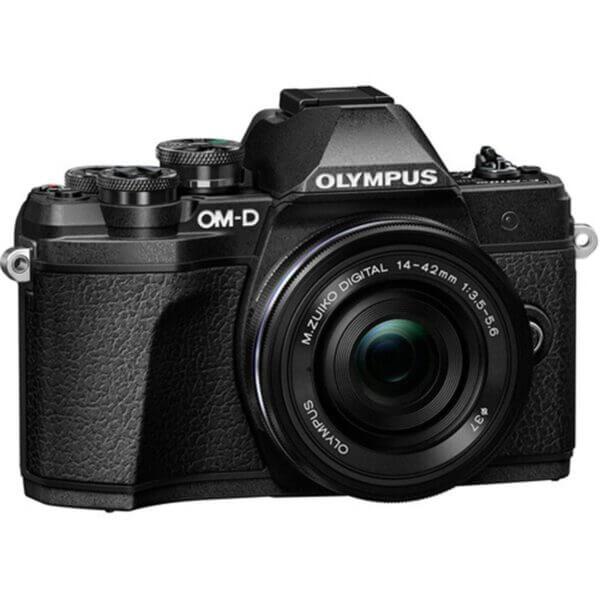 Olympus OM-D E-M10 Mark III black 2