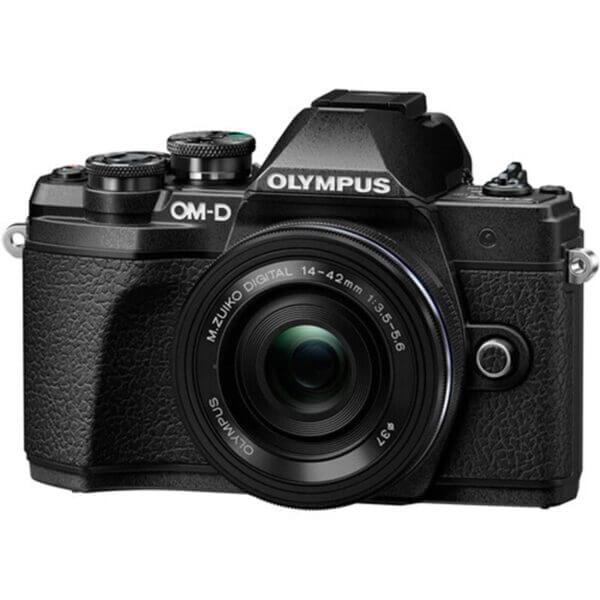 Olympus OM-D E-M10 Mark III black 3