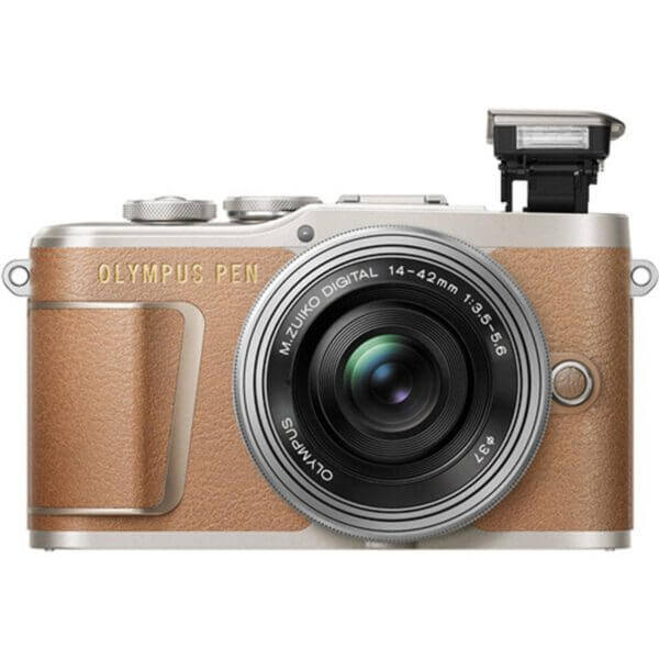 Olympus Pen E-PL9 Brown 2