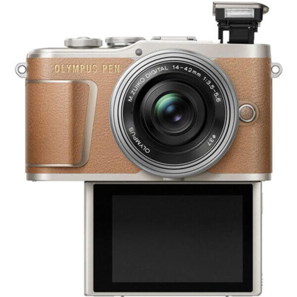 Olympus Pen E-PL9 Brown 6