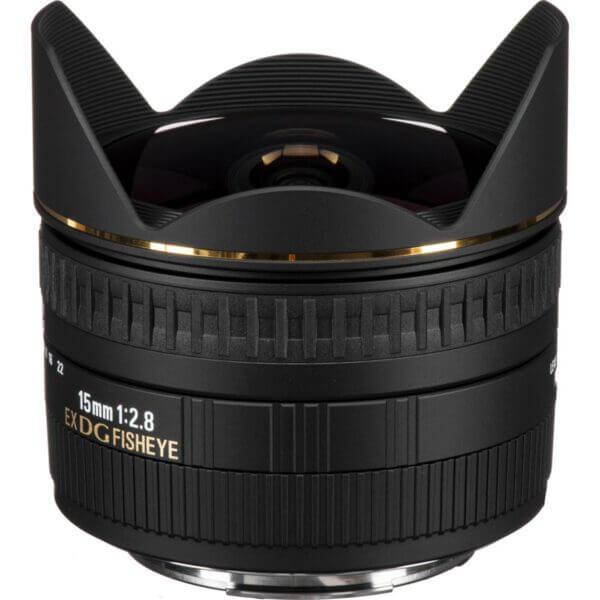 Sigma 15mm f2.8 EX DG Diagonal Fisheye Lens for Canon EF ประกันศูนย์1