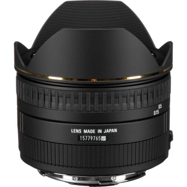Sigma 15mm f2.8 EX DG Diagonal Fisheye Lens for Canon EF ประกันศูนย์2