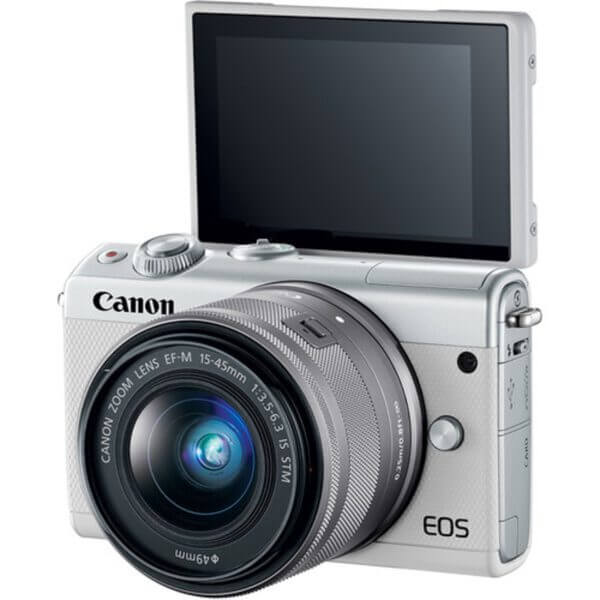 Canon EOS M10 White + 15-45 mm IS STM 3