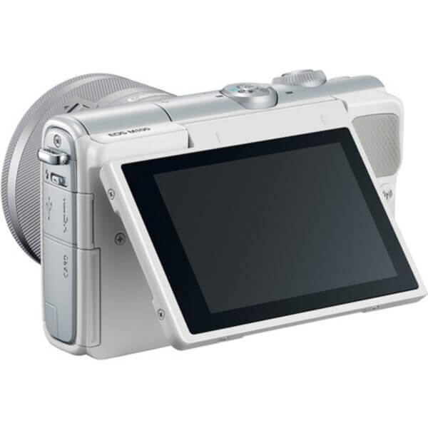 Canon EOS M10 White + 15-45 mm IS STM 7