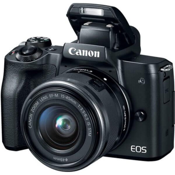 Canon EOS M50 Black + 15-45 mm IS STM 2