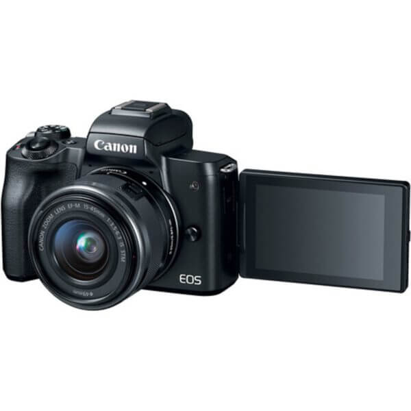 Canon EOS M50 Black + 15-45 mm IS STM 3