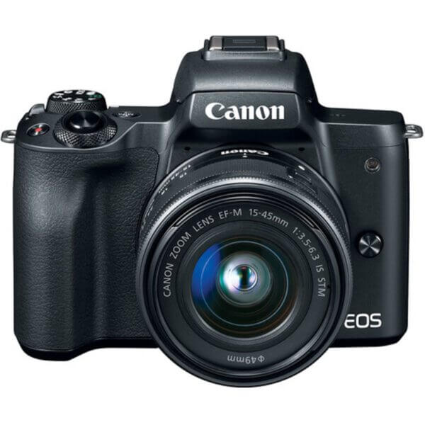 Canon EOS M50 Black + 15-45 mm IS STM 4