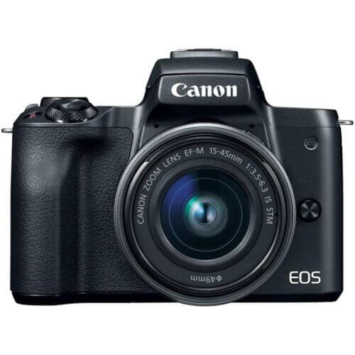 Canon EOS M50 Black + 15-45 mm IS STM 5