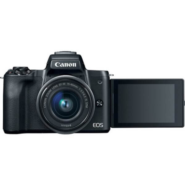 Canon EOS M50 Black + 15-45 mm IS STM 6