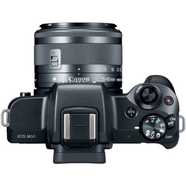 Canon EOS M50 Black + 15-45 mm IS STM 8