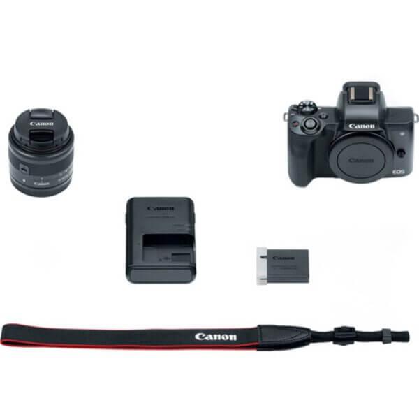 Canon EOS M50 Black + 15-45 mm IS STM 9
