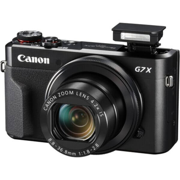 Canon Powershot G7X Mark II 2