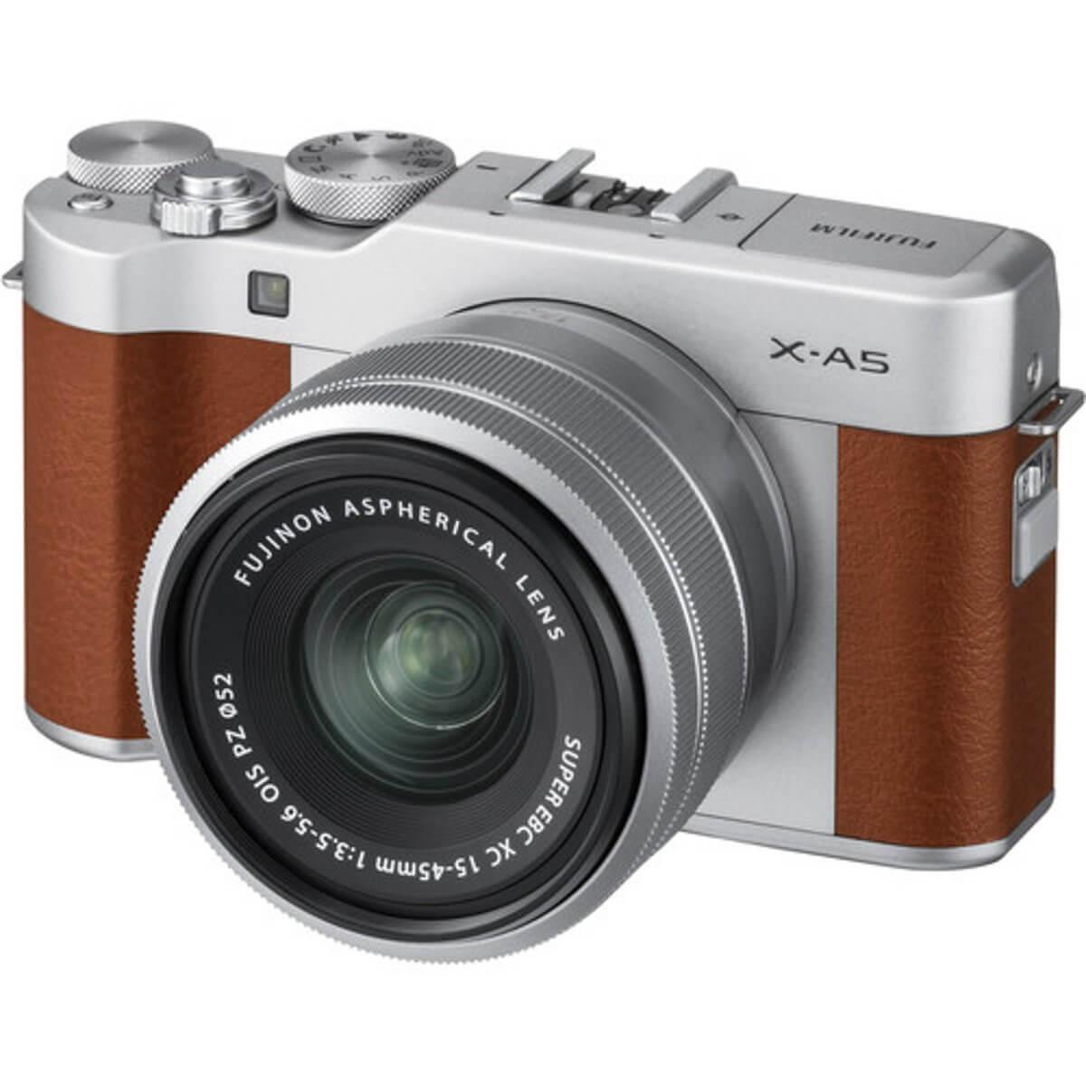 Fujifilm X-A5 Brown + 15-45mm OIS PZ 1
