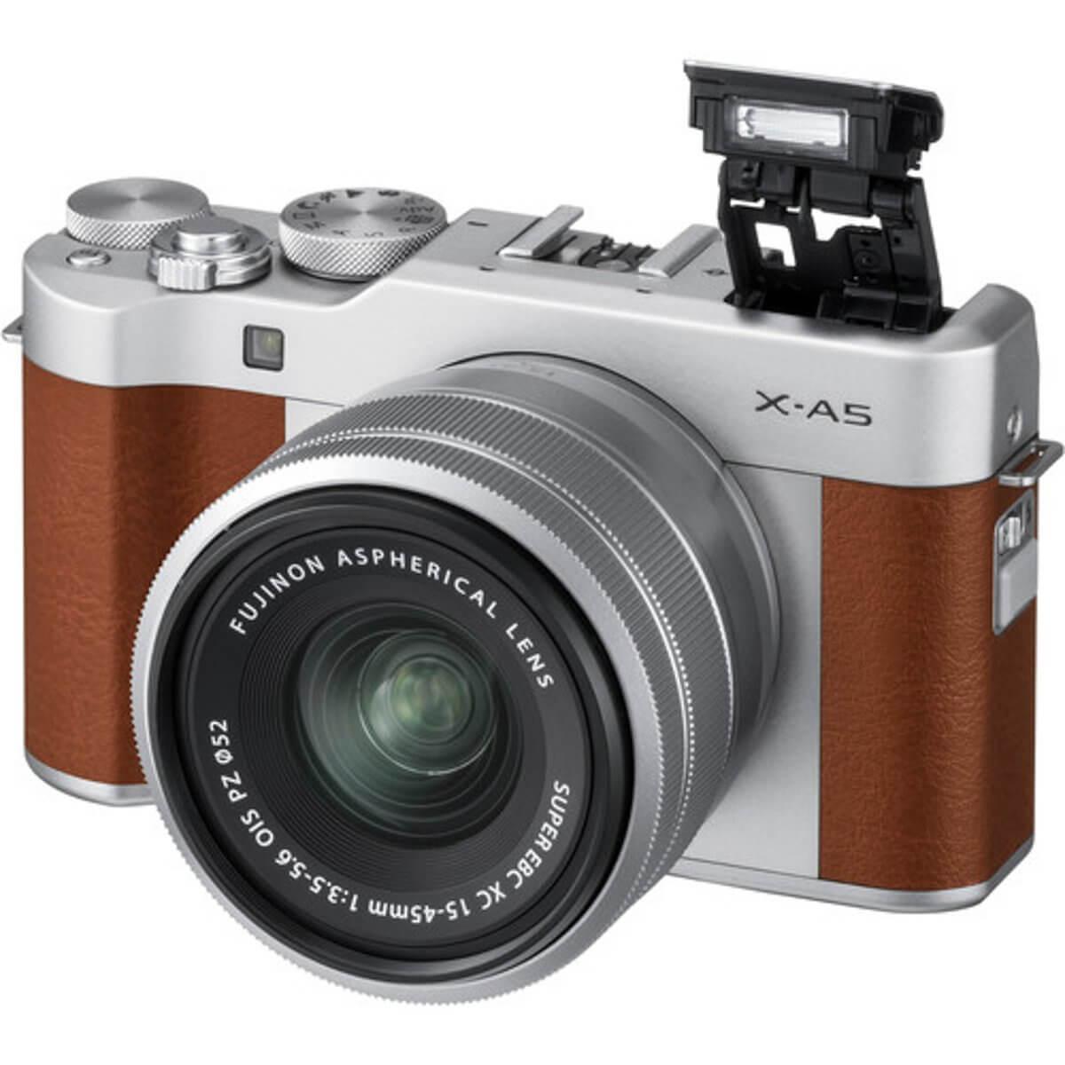 Fujifilm X-A5 Brown + 15-45mm OIS PZ 2
