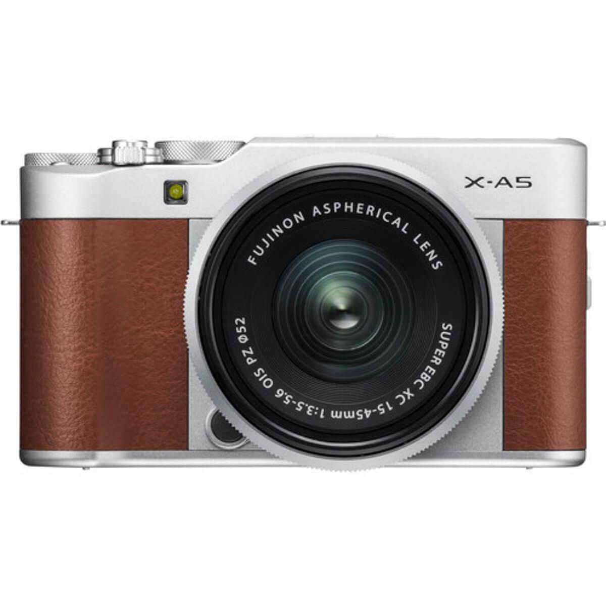 Fujifilm X-A5 Brown + 15-45mm OIS PZ 3
