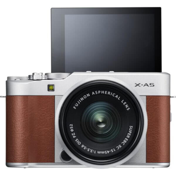 Fujifilm X-A5 Brown + 15-45mm OIS PZ 4