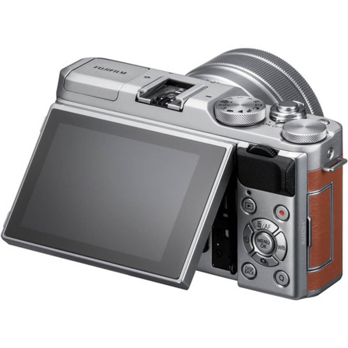 Fujifilm X-A5 Brown + 15-45mm OIS PZ 8