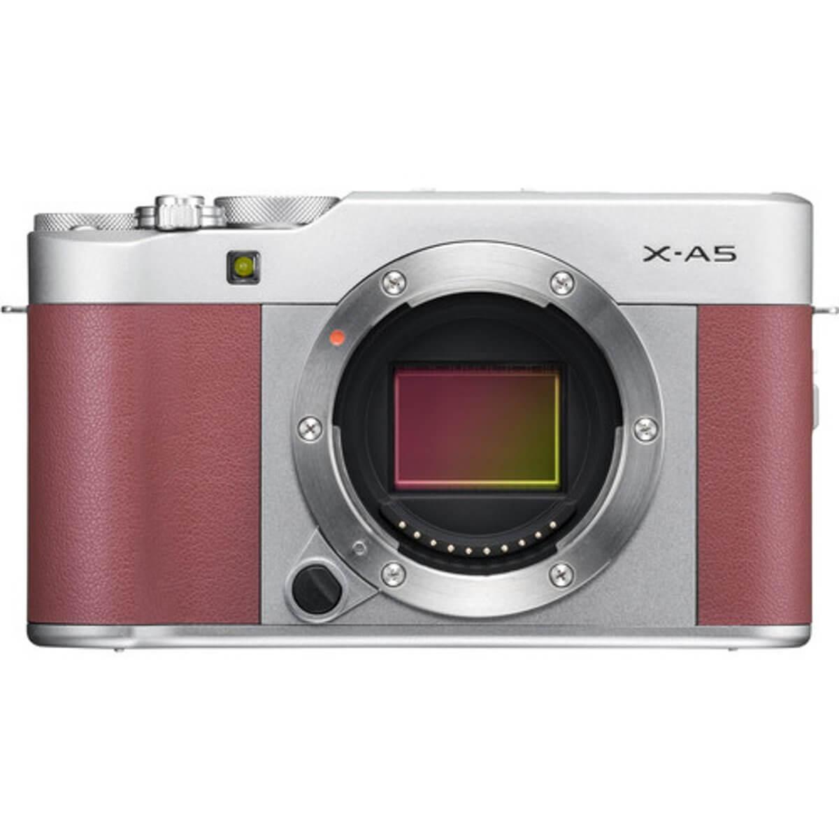 Fujifilm X-A5 Pink + 15-45mm OIS PZ 11