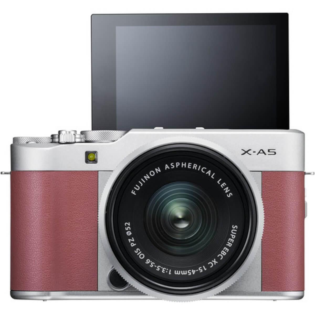 Fujifilm X-A5 Pink + 15-45mm OIS PZ 4