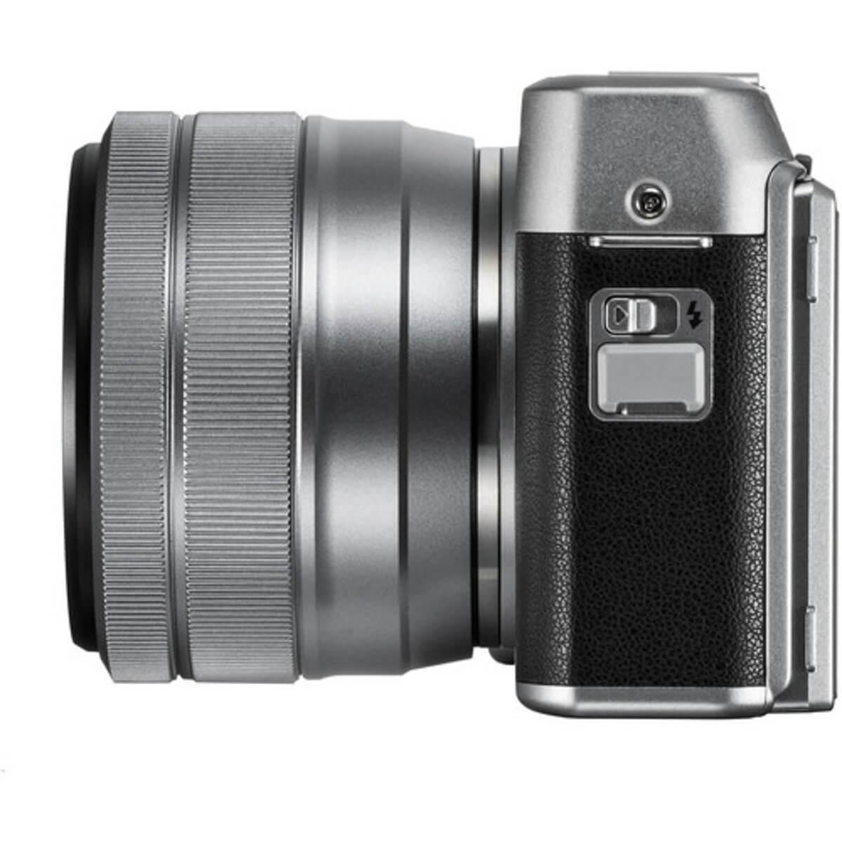Fujifilm X-A5 Sliver + 15-45mm OIS PZ 6