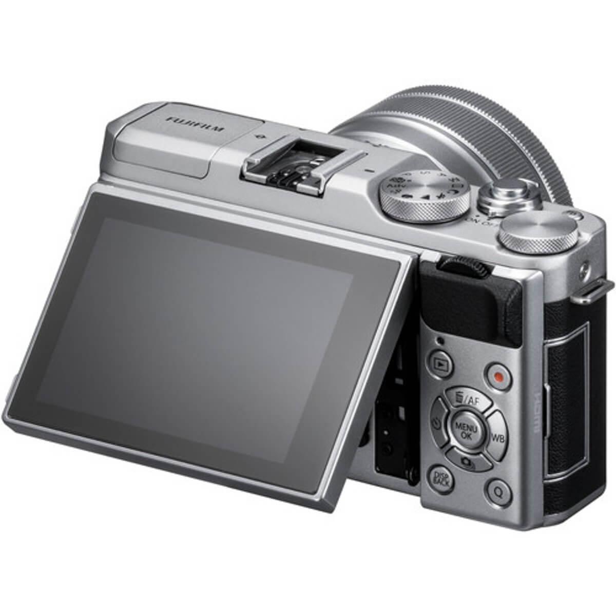Fujifilm X-A5 Sliver + 15-45mm OIS PZ 8