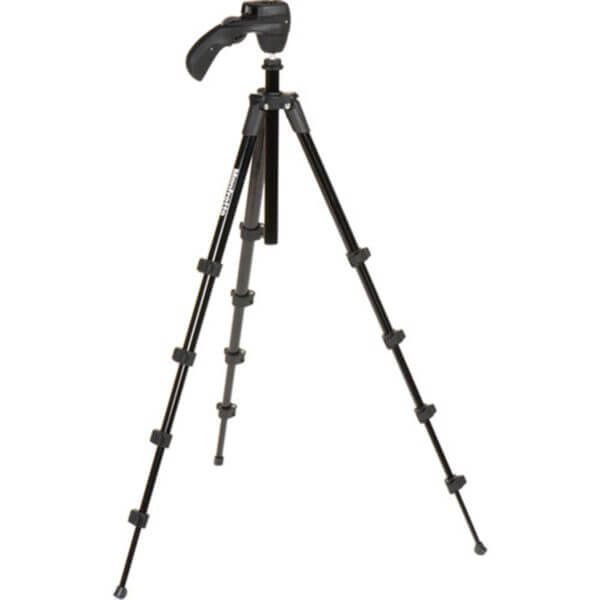 Manfrotto Compact Action Tripod with Joy Stick Head Black 2