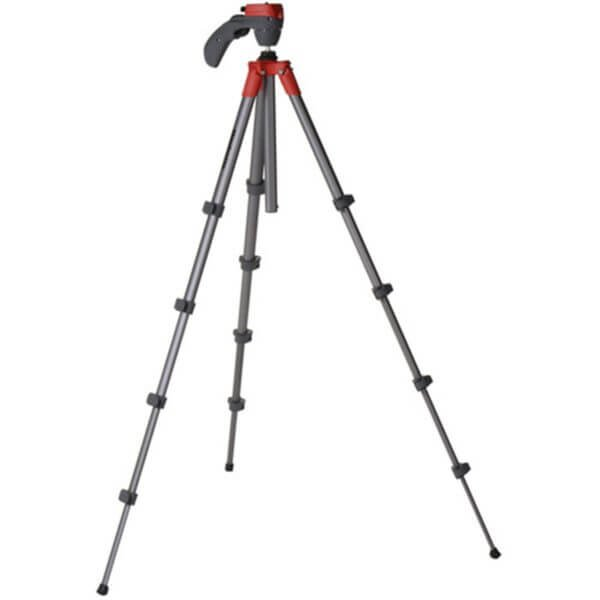 Manfrotto Compact Action Tripod with Joy Stick Head Red 2