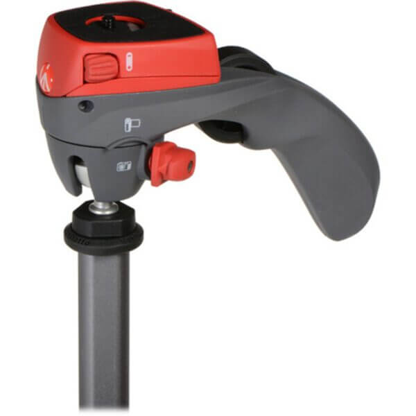 Manfrotto Compact Action Tripod with Joy Stick Head Red 3