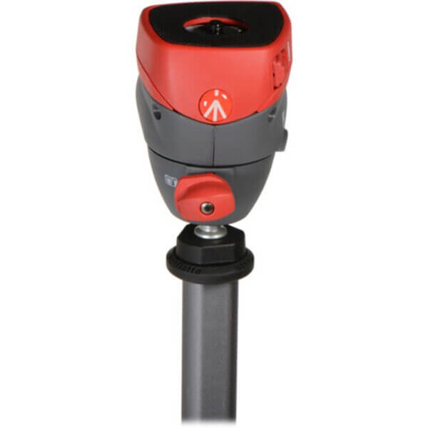 Manfrotto Compact Action Tripod with Joy Stick Head Red 5