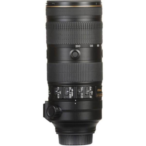 Nikon Lens AF S 70 200mm f2.8E FL ED VR 9