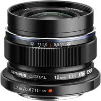 Olympus M.Zuiko 12mm f2 Digital ED Black 1