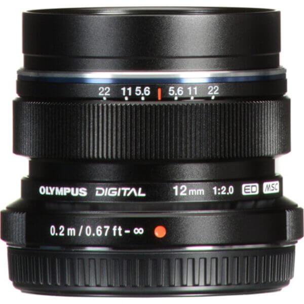 Olympus M.Zuiko 12mm f2 Digital ED Black 2