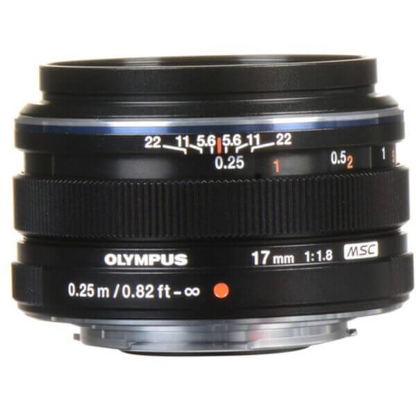 Olympus M.Zuiko 17mm F1.8 Black 3