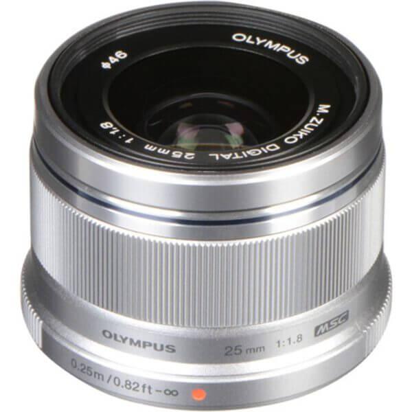 Olympus M.Zuiko 25mm F1.8 Black Silver 2